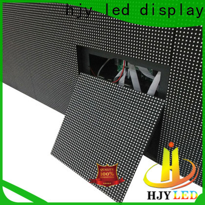 Haojingyuan module led display fixed manufacturers for school