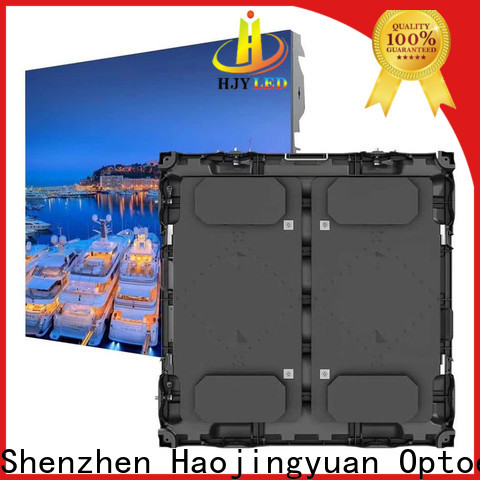 Haojingyuan stadium football stadium led display Suppliers for salon