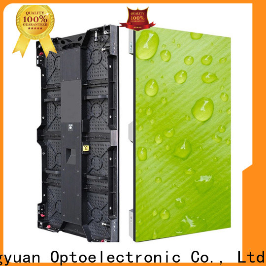Haojingyuan indoor led stage backdrop screen company for stadium