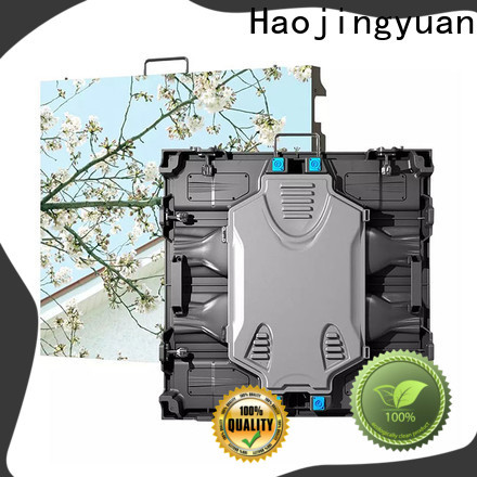 Haojingyuan New high definition led screens factory for building