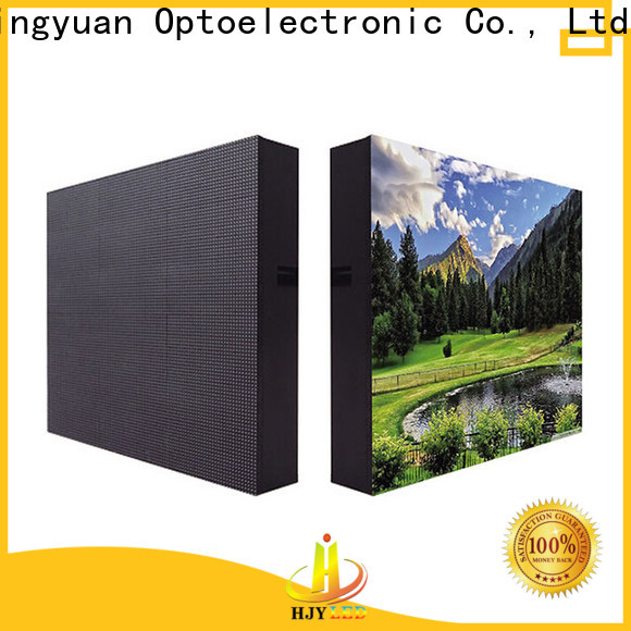 Haojingyuan High-quality waterproof led display board factory for lobby