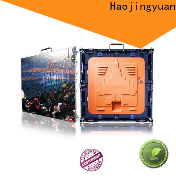 Haojingyuan Best high definition led screens for business for building