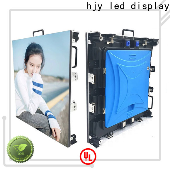 Haojingyuan Latest outdoor stage rental LED company for concert