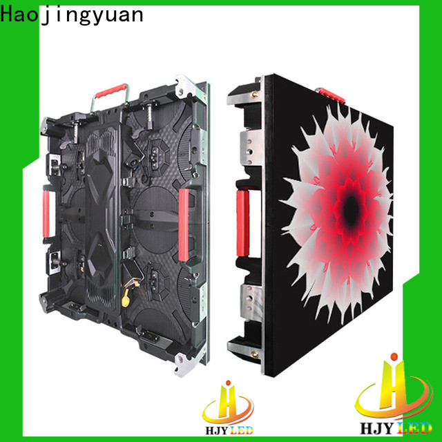 Haojingyuan video HD led display panel company for building