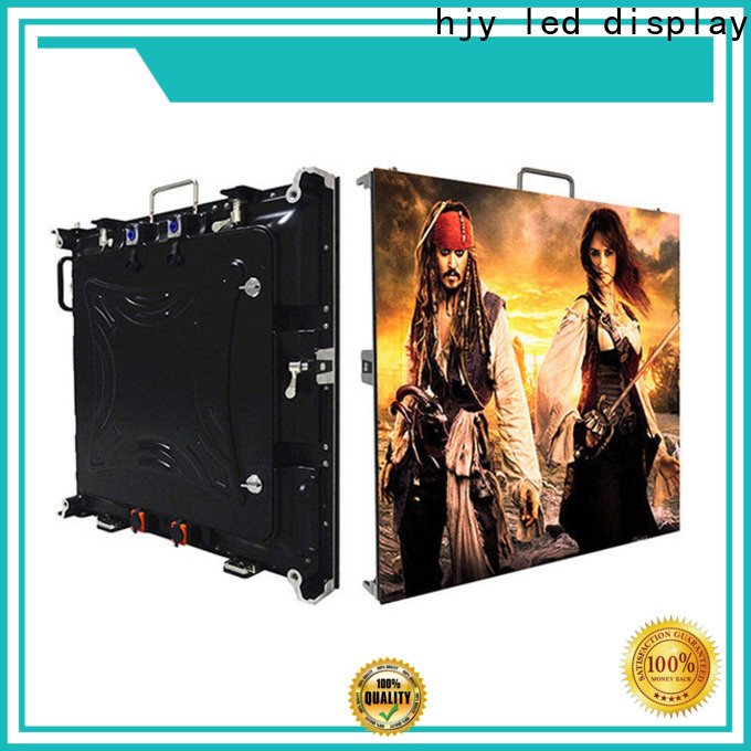 Haojingyuan Custom high definition led display manufacturers for taxi