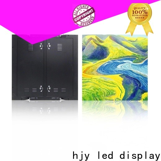 Haojingyuan color indoor led display Suppliers for school