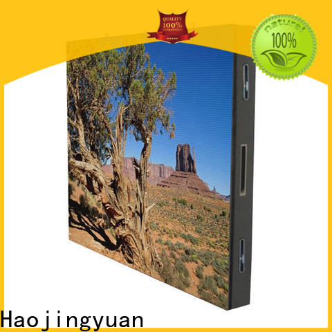 Haojingyuan Best led road display company for lobby