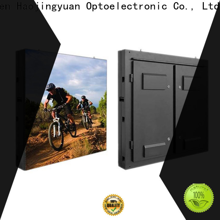 Haojingyuan brightness outdoor fixed led display factory for school