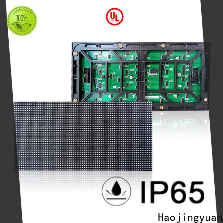 Haojingyuan 256x128 smd led module manufacturers for wall