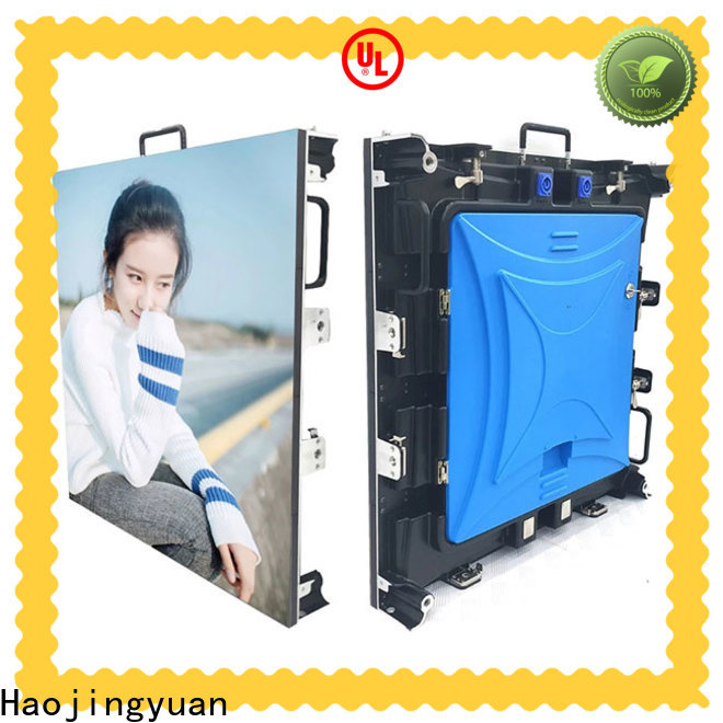Haojingyuan Top stage rental led display factory for shopping mall