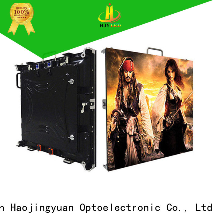 High-quality high definition led display rental factory for taxi