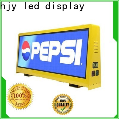 Best taxi led display 4500nits for business for restaurant
