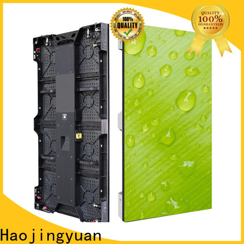 Haojingyuan popular stage led screen company for concert