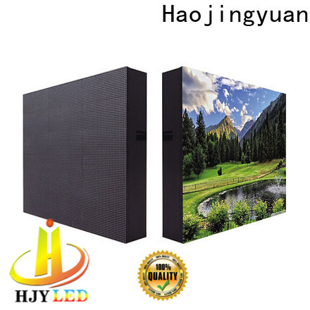 Haojingyuan Latest led display sign led fixed Supply for school