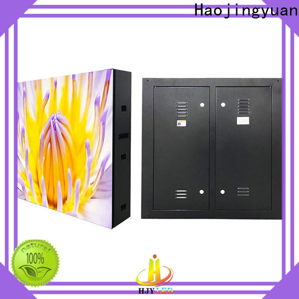 Haojingyuan Top waterproof led display board factory for lobby