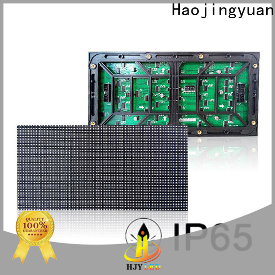 Haojingyuan single led display module factory for street