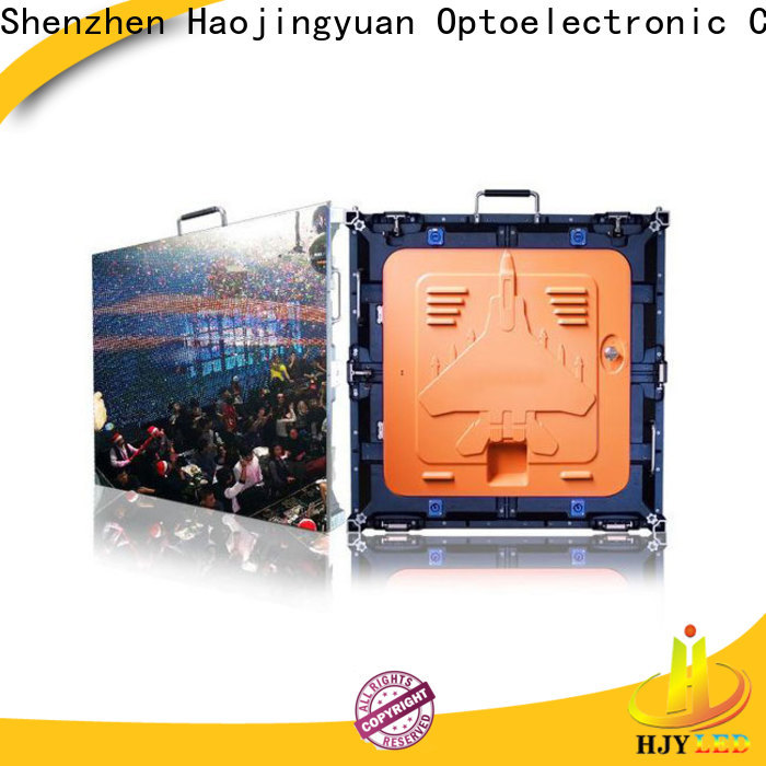 Haojingyuan Top high quality led screen for business for building