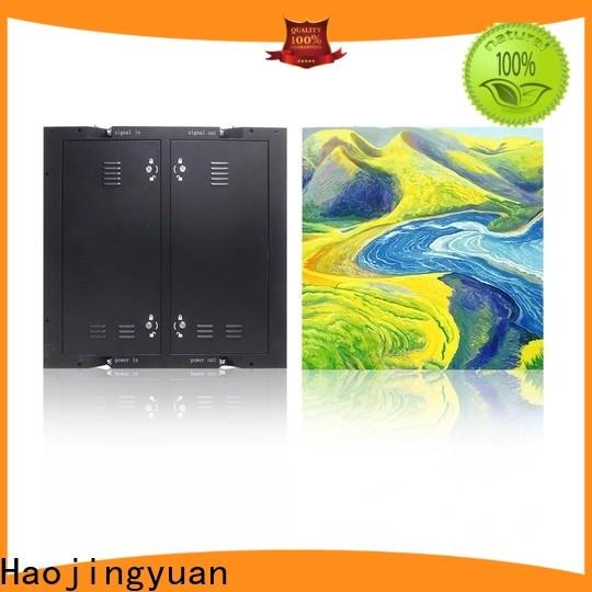 Haojingyuan service waterproof led display board factory for hotels