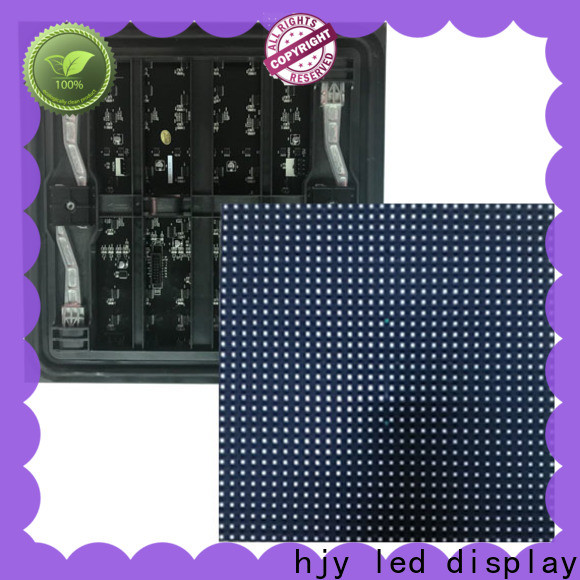 Haojingyuan Best led display module factory for wall