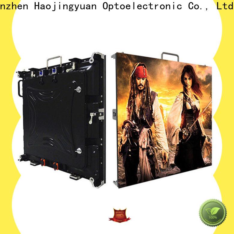 Haojingyuan Latest high quality led screen company for sea port