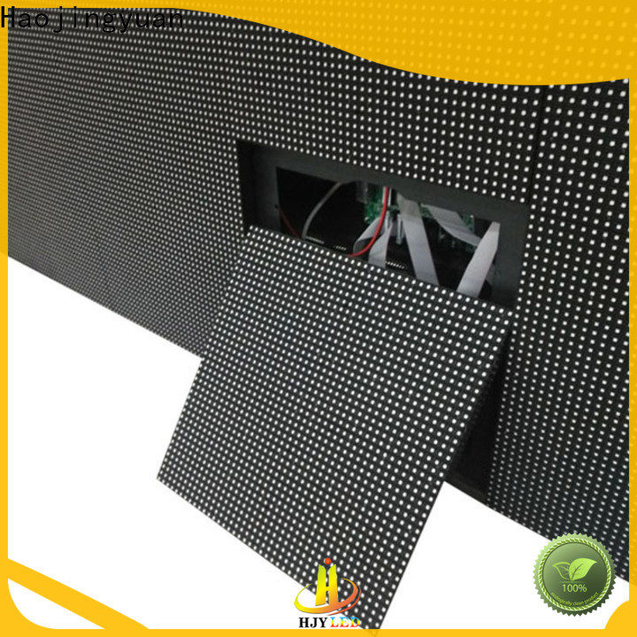 Haojingyuan Wholesale led display sign led fixed for business for lobby