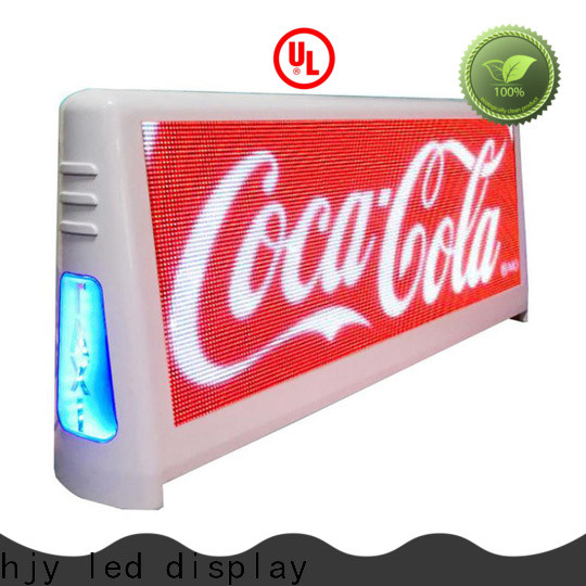 Wholesale taxi top led display 4500nits Supply for wedding