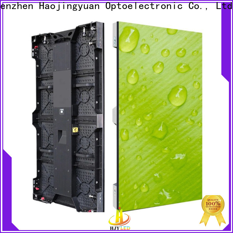 Haojingyuan Best led video wall panel for business for concert