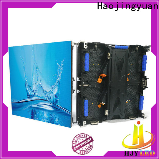 Haojingyuan Best stage led screen company for shopping mall