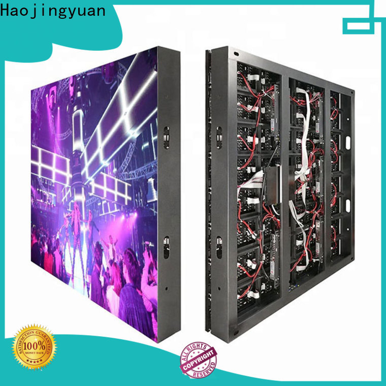 Haojingyuan Custom outdoor fixed led display manufacturers for school