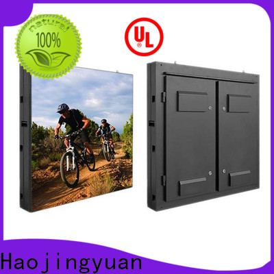 Haojingyuan Custom outdoor fixed led display Suppliers for lobby