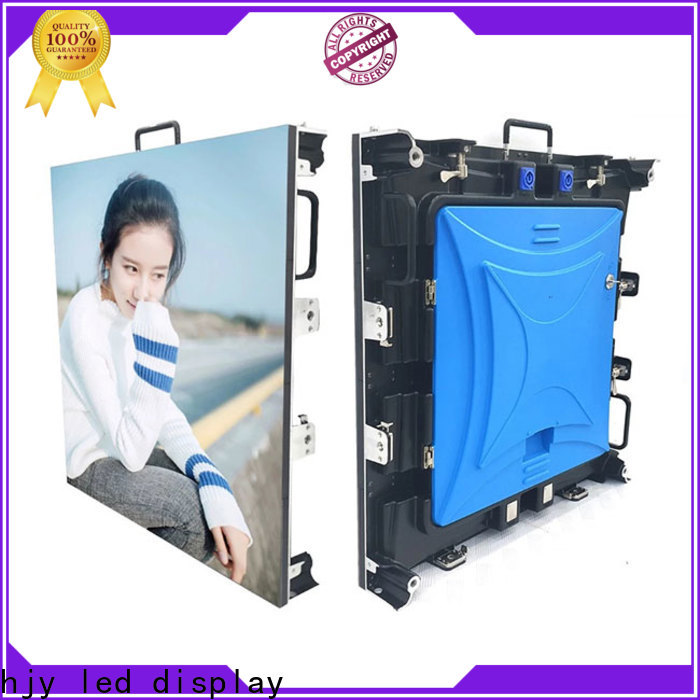 Haojingyuan concert led screens for events manufacturers for shopping mall