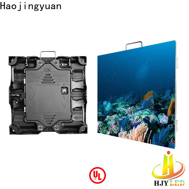 Haojingyuan High-quality led panel screen indoor manufacturers for sea port