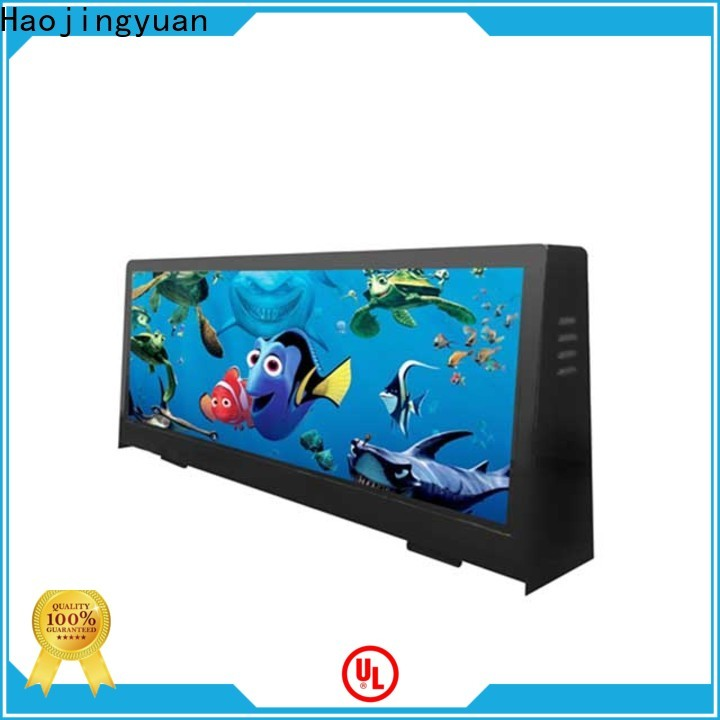 Haojingyuan Top led display board Suppliers for air port