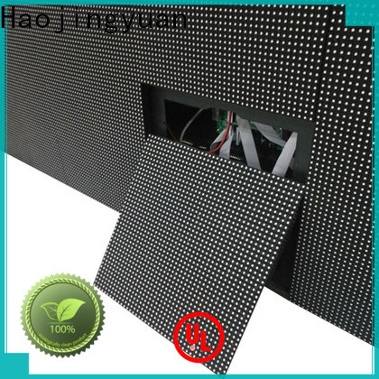 Haojingyuan outdoor led display fixed Supply for hotels