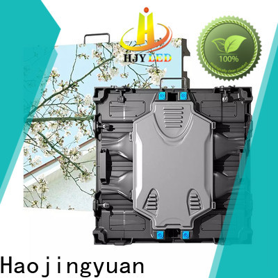 Haojingyuan stage small led display panel Suppliers for sea port