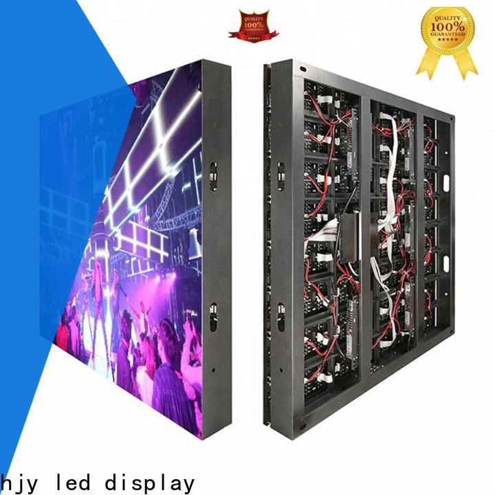 Haojingyuan New indoor led display manufacturers for hotels