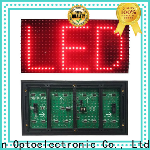 Haojingyuan outdoor dip led module for business for cafeteria