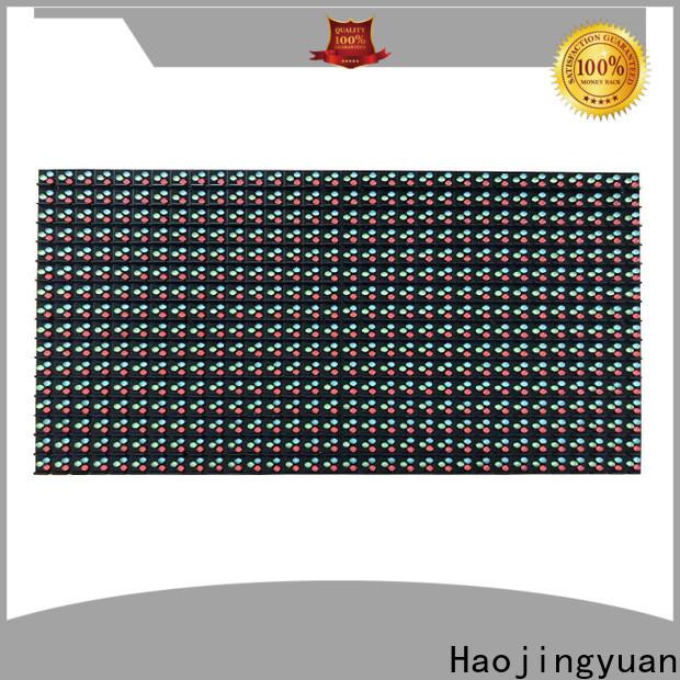 Haojingyuan Custom led display module company for wall