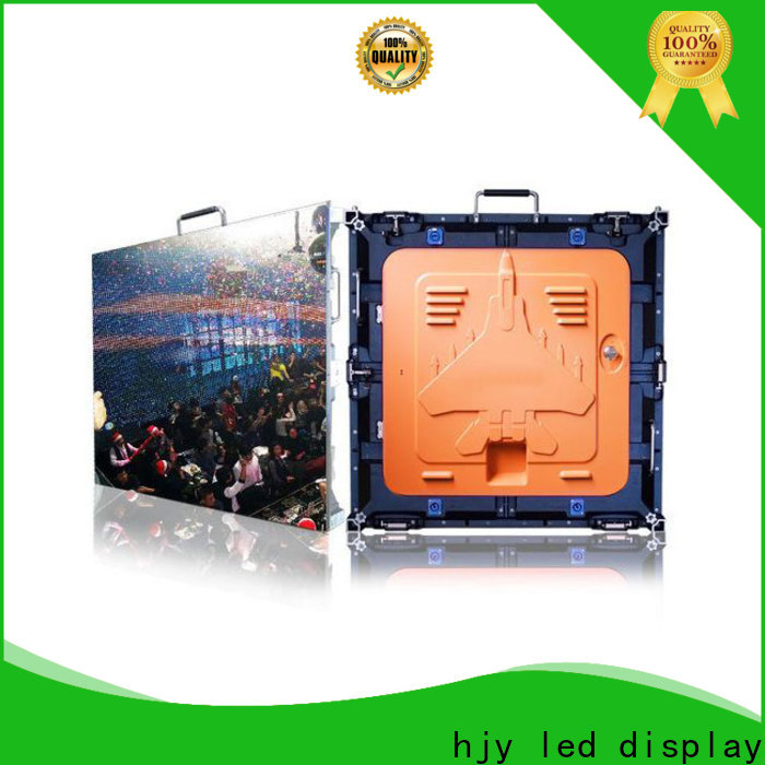 Haojingyuan Top led panel backdrop factory for sea port