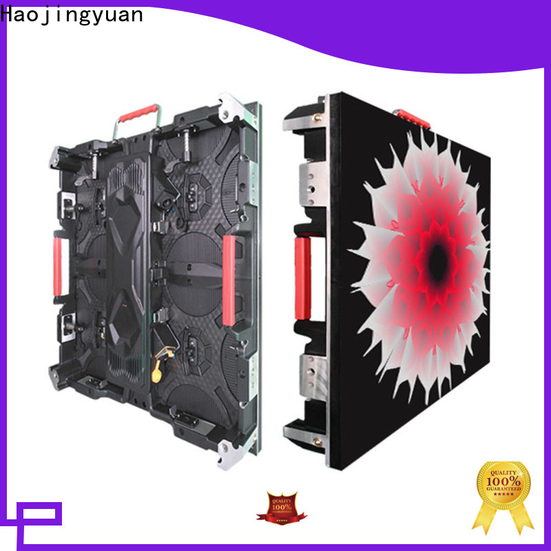 Haojingyuan rental color led display Supply for taxi