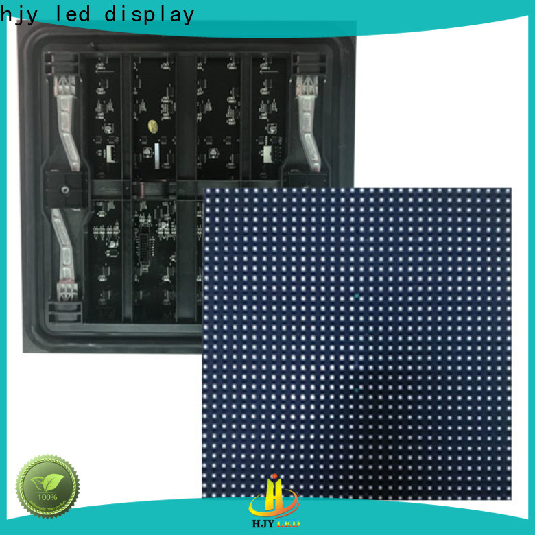 Haojingyuan white led display module company for cafeteria