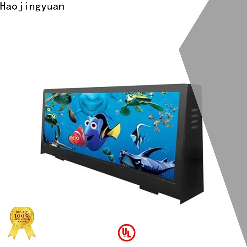 Haojingyuan Latest led display panel Suppliers for air port