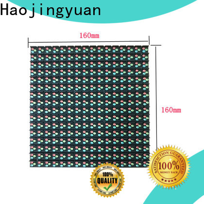 Haojingyuan full outdoor led display manufacturers for hotels