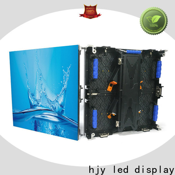 Haojingyuan video led advertising display company for concert