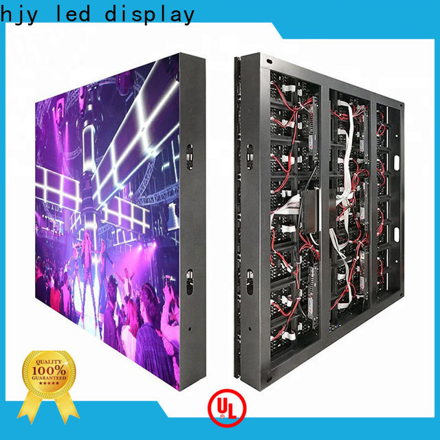 Haojingyuan Best outdoor fixed led display Suppliers for school