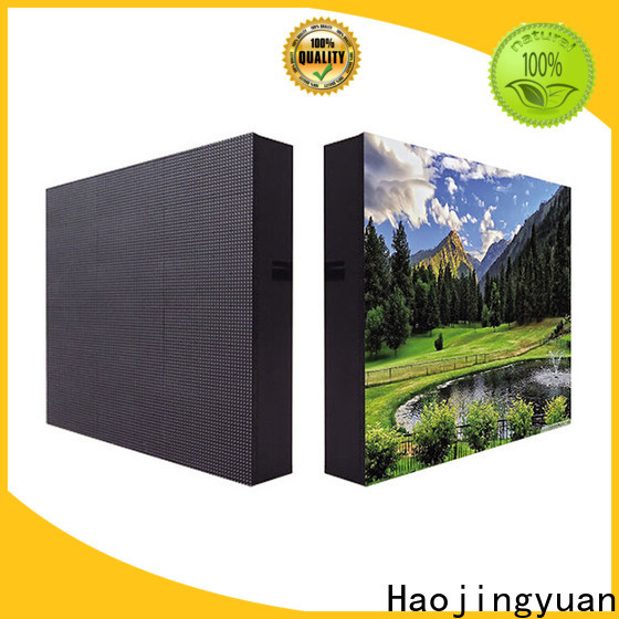 Haojingyuan color waterproof led display board Supply for hotels