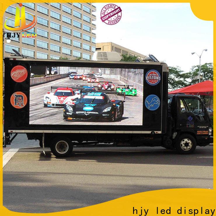 Haojingyuan Custom led truck lights wholesale company for school