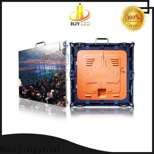 Haojingyuan led video display signs for business for taxi