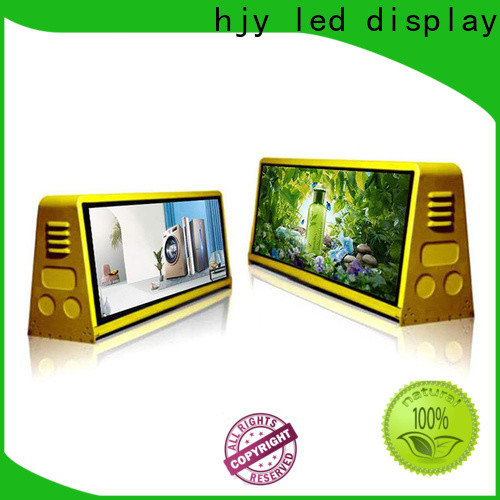 Haojingyuan poster truck advertising mobile led display Supply for for house