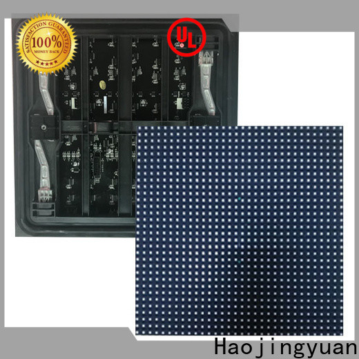 Haojingyuan 320x160mm dip led module factory for cafeteria